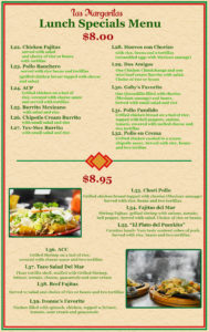 Lunch Specials 2